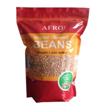 Afro Brown Nigerian Beans