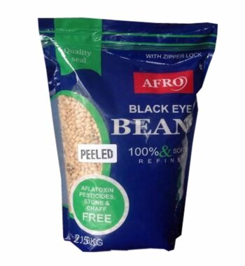 Afro peeled beans