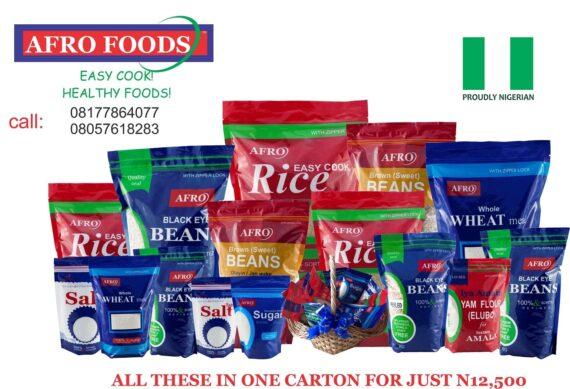 afrofoods hamper bundle
